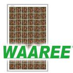 WAAREE WS-240 - Metallic Gold